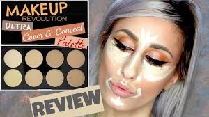 makeup revolution ultra cover u0026 conceal palette review youtube
