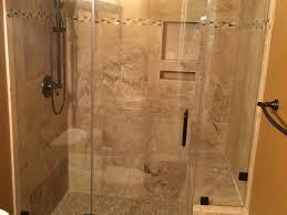 Bathroom Tub To Shower Conversion Travertine Tub Shower Conversion Bathroom Remodel Magnolia Dma