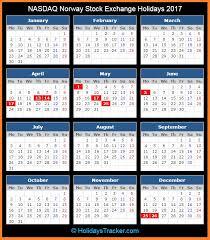 nasdaq stock market holidays 2017 holidays tracker