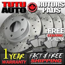 2007 honda accord rotors c0037 fit 2003 2004 2005 2006 2007 honda accord 2 4l brake rotors