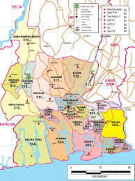 Niger River Map Rivers State Zip Code Map