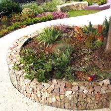cheap garden border edging ideas impressive with pebbles and rocks