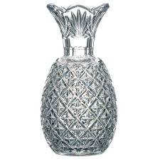 Large Waterford Crystal Vase Waterford Crystal Pineapple Vase At 1stdibs