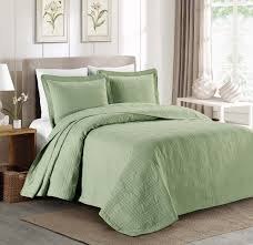 Cheap Bed Spreads Amazon Com Chezmoi Collection Kingston 3 Piece Oversized