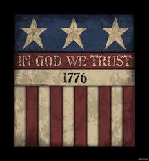 america in god we trust wood sign primitive rustic americana