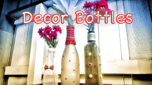 Home Decoratives Diy Home Decor Beautiful Bottle Crafts From Recycled Items Best