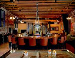 classic contemporary bar design of district soma restaurant san