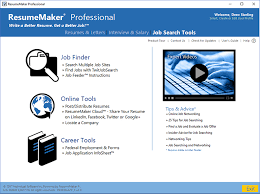 Video Resume Maker Write A Better Resume Resumemaker Individual Software