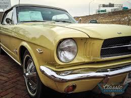1965 yellow mustang 1965 ford mustang enterprises