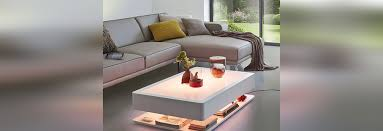 ora home coffee table led furniture with stylish storage space