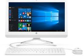 ensemble ordinateur de bureau pc de bureau hp tout en un 22 b031nf 22 b031nf all in one darty