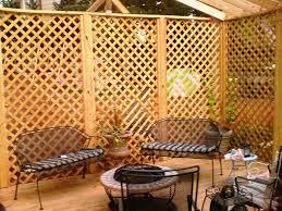decor 1 x 4 x 8 cedar privacy wood lowes lattice for garden fence