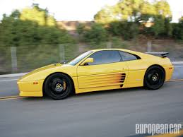 ferrari yellow paint code 1994 ferrari 348 challenge tb twin turbo european car magazine
