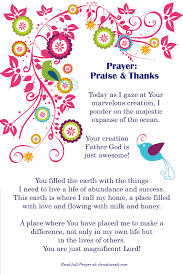 hymns of thanksgiving and praise praise and thanks