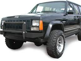 Olympic 4x4 Products Olympic Rock Front Bumper With Hitch For 84
