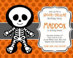halloween birthday invitations orionjurinform com
