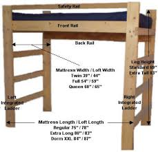 loft bed with desk plans woodworking bunk bed with alluring free loft bed with desk plans