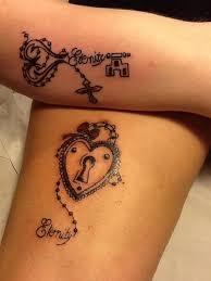 35 meaningful lock and keys tattoos key tattoo designs key