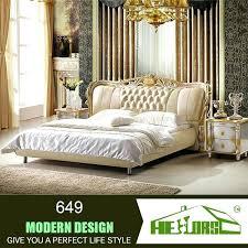 bedroom fine double bed bedroom sets intended leather modern