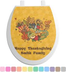 thanksgiving bath towels happy thanksgiving toilet seat decal personalized baby n toddler