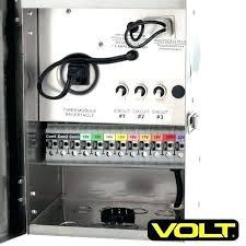 Low Voltage Landscape Lighting Transformer Low Voltage Landscape Lighting Transformer Outdoor Goods