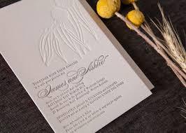 ashlee james letterpress wedding invitation