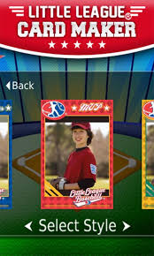 little league card maker android apps on google play