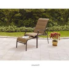 Reclining Patio Chairs by Patio Chair Pull Out Ottoman Padded Sling Chair Reclining Classic