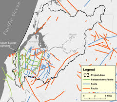 Earthquake Map Oregon by Geology Of The Coos Estuary And Lower Coos Watershed Partnership