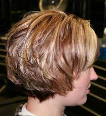 short long layered hairstyles with bangs layered blonde short