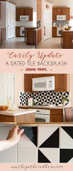 easy diy kitchen backsplash best 25 vinyl backsplash ideas on vinyl tile