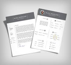 free minimalist resume designs free minimalist resume template cover letter ai file good resume
