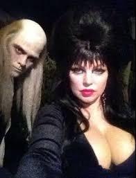 Riff Raff Halloween Costume Fergie U0026 Josh Duhamel Elvira U0026 Riff Raff Celebrity Halloween