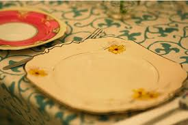 mismatched plates wedding a country wedding once wed