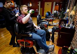 mens haircuts portland in portland s growing manscape salons offer much more than a shave