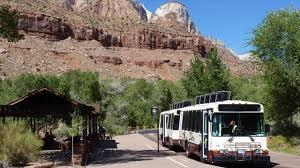 shuttle system zion national park u s national park service