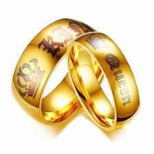 king gold rings images King queen gold rings coupleschoices jpg