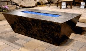 fire table cover rectangle outdoor fire pits denver attractive rectangular pit table inside 15