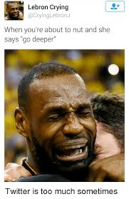 Lebron Crying Meme - 25 best memes about lebron crying lebron crying memes