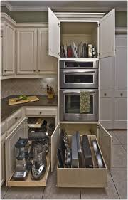 lovely storage for kitchen appliances