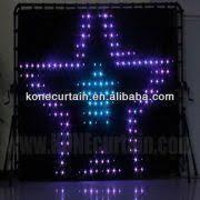 Curtain Vision Kone Led Display Curtain Vision Curtain Pitch 9 Cm Pc Control