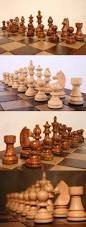 contemporary chess 40856 staunton wood chess set pieces chessmen