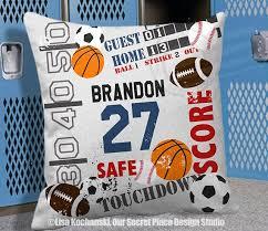 Best SPORTS DECOR Our Secret Place Design Images On Pinterest - Kids sports room decor