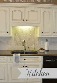 traditional kitchen backsplash traditional kitchen tour with painted cabinets hometalk