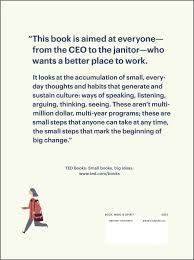 beyond measure the big impact of small changes ted books