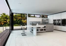 cuisine et salon ouvert grand salon ouvert de plan avec la cuisine illustration stock