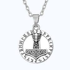 gothic thors hammer mjolnir norse symbole god of thunder viking thor