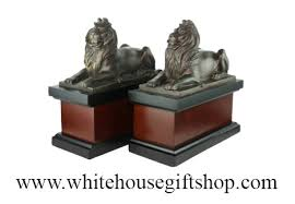 lion book ends statue new york library lion bookends statue 6 75