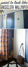 faux grasscloth wallpaper home decor denim faux finish paint tutorial the heathered nest