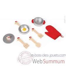 janod maxi cuisine chic achat de maxi sur le bois des jouets